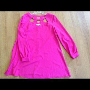 Dresses & Skirts - Hot pink boutique dress